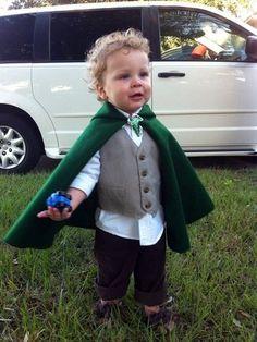 Disfraz hobbit, de los libros El señor de los anillos y El hobbit de Tolkien.