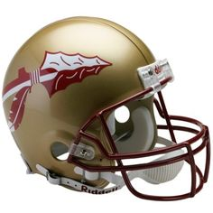 Florida State Seminoles Mini Football Helmet - Gold Color