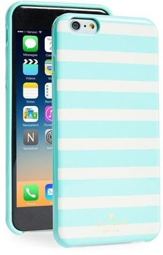 I want this kate spade striped iPhone case!