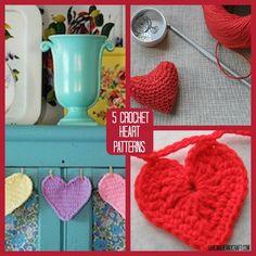 5 Crochet Heart Patterns to Love - HandmadeandCraft.com