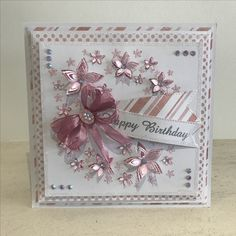 Dies by Chloe - Flower Arch Die Birthday Cards For Women, Handmade Birthday Cards, Happy Birthday Cards, Female Birthday Cards, 70th Birthday Card, Card Making Inspiration, Making Ideas, Chloes Creative Cards, Stamps By Chloe