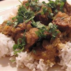 Authentic Bangladeshi Beef Curry Allrecipes.com  this is dinner tonight with Moose!! Smells delish