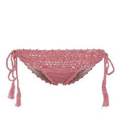 ANNA KOSTUROVA Darling crochet cotton bikini bottoms. #annakosturova #cloth #