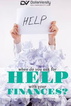 Financial troubles are often difficult and embarrassing to admit to. It doesn't help that money is one of the most taboo subjects in our culture, you just don't talk about it. So, how do you get help with your finances? You need to ask! You just need to get over it & seek help if you can't get things under control yourself. This article has tips on how to get yourself out there and ask for help with getting out of debt, managing your money and getting your finances under control. via…