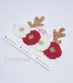 Christmas Felt Crown
