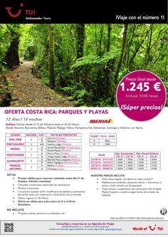 ¡Súper precios! Oferta Costa Rica: Parques y Playas. Precio final desde 1.245€ - http://zocotours.com/super-precios-oferta-costa-rica-parques-y-playas-precio-final-desde-1-245e-3/