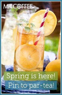 Win a Mr. Coffee® Tea Café Iced Tea Maker by entering our Pinterest contest. Visit http://on.fb.me/1hJQOd6 to enter. Contest ends 5/2/14. Good luck! #MrCoffee #Coffee #spring  #contest #pintowin