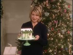 Martha Stewart uses sugar cubes for holiday houses