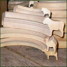 WOODEN ANIMAL CARVINGS
