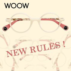 WOOW is conquering the world with a UNIQUE combination of London BEAT and Paris FASHION; full of humour, happy colours and a fabulous style of its own. Optical Eyewear, Optical Frames, Happy Colors, Eyeglasses, Paris Fashion, Fashion Accessories, Stuff To Buy, Colours, London