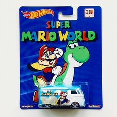 7/10 from my anonymous #raok this @hotwheelsofficial Super Mario #vw panel bus!  so happy to finally have one in the collection!