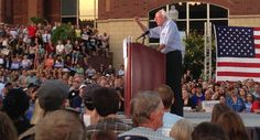 How Bernie Sanders makes his mega-rallies