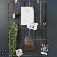 How cool is this grid organizer just in from @general_eclectic. Perfect to keep your office or kitchen under control #officegoals #officeenvy #generaleclectic #shutthefrontdoorstore
