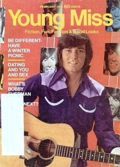 omg Young Miss magazine & Bobby Sherman! I always checked these out at the Menlo library!  Jolena