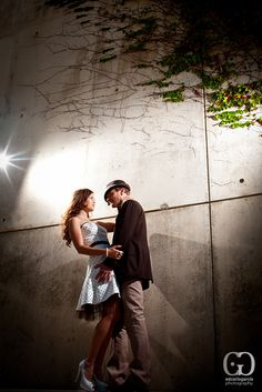 #editorial #engagement #san #jose #city #hall #couple #fashion #urban #poses #ideas