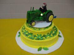 John Deere Wedding Cakes