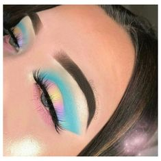 Makeup Eye Looks, Eye Makeup Art, Crazy Makeup, Skin Makeup, Eyeshadow Makeup, Sleek Makeup, Eyeshadow Palette, Eyeshadows, Makeup Looks