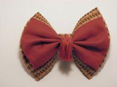Handmade 11th doctor hair bow for sale! ($6.50)