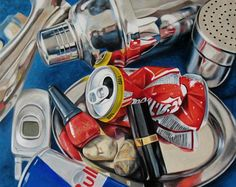 Klaus Boekhoff - Painting in photo-realism....and YES this is an actual painting NOT a photograph! AmAzInG!!!!
