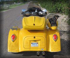 Motorcycle Trike Pet Carrier