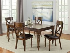Alamo Dining Room Collection - Value City Furniture Value City Furniture, Tv Furniture, Dining Room Furniture, Furniture Design, Dining Room Sets, Dining Area, Dining Table, Interior Design, Dream Apartment