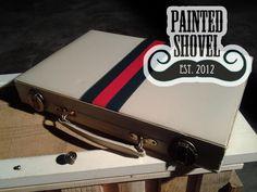 Vintage backgammon game travel set for sale at Painted Shovel in Avondale, AL.