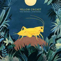 Yellow Cricket | Album Cover Art Luisa Rivera