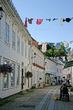 Egersund, a small town along the south coast of Norway