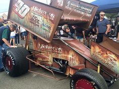 One of the baddest looking sprint cars ever. Ratrod patina