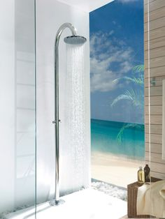 Like you are in a beach #shower #bathroom #tapware