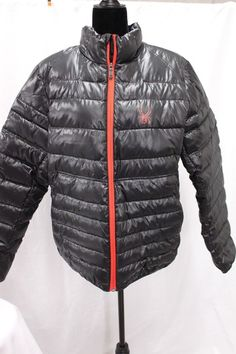 c30f9f2f98b93e Spyder Primo Down Jacket Black MSRP $245 Puffer Coat NEW TAGS FREE SHIP |  Clothing,