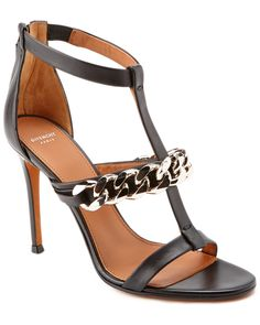 Givenchy Chain T Strap Leather Sandal is on Rue. Shop it now.