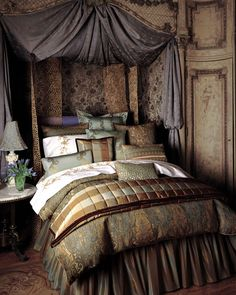 Old world on pinterest old world bedroom decor and four for Old world bedroom