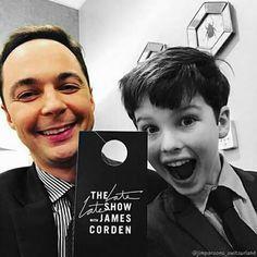 Sheldon with young Sheldon