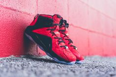 4a6d57f58da1 Nike LeBron 12 Ext (Red Paisley) - Sneaker Freaker