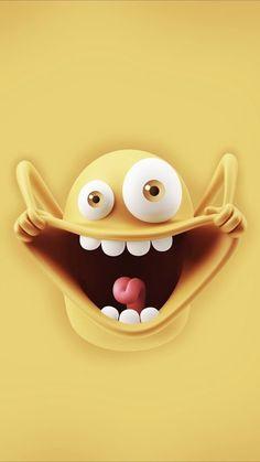 New Wallpaper Iphone Cute Cartoon Funny 53 Ideas Cartoon Wallpaper Iphone, Cute Cartoon Wallpapers, Cellphone Wallpaper, Disney Wallpaper, Iphone Cartoon, Cute Emoji Wallpaper, Crazy Wallpaper, Smile Wallpaper, Trendy Wallpaper