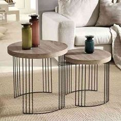 Folding Furniture, Iron Furniture, Industrial Furniture, Table Furniture, Home Furniture, Minimalist Furniture, Decorating Coffee Tables, Center Table, Nesting Tables