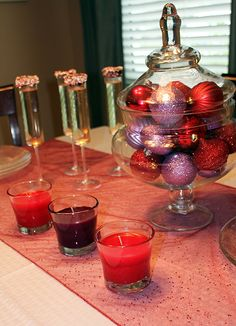 #Ad Easy holiday tablescape