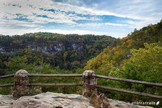 Incredible canyon views from Cloudland's West Rim Loop hiking trail