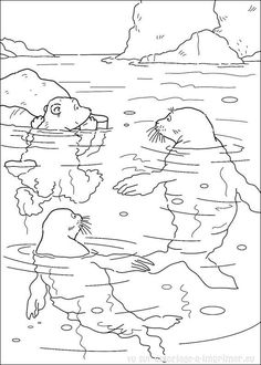 Free printable coloring pages for adults native american for Antarctic animals coloring pages