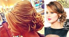 Updo and Side Bangs - 18 Best ideas of Wedding Hairstyles for Women with Thin Hair - EverAfterGuide
