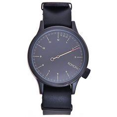 Komono Magnus The One černá, 2090 Kč The One, Watches, Leather, Accessories, Wristwatches, Clocks, Jewelry Accessories