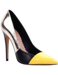 Preya High Heel Pointy Toe Pump | David Jones