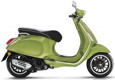 """The Vespa Sprint 50 delivers traditional Italian Scooter style with a heart of """"green"""" due to its low emission and fuel consumption. Find out more about the Vespa Sprint 50 here. New Vespa, Vespa Lx, Vespa Sprint, Vespa Scooters, Vespa Models, Italian Scooter, Supersport, Paint Schemes, Cars And Motorcycles"""