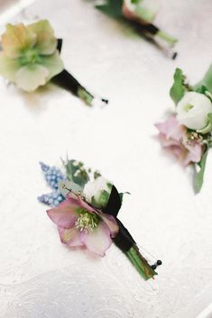 Hellebore Winter Wedding Flowers