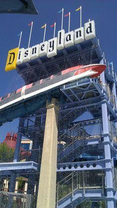 Disneyland hotel pool and slides