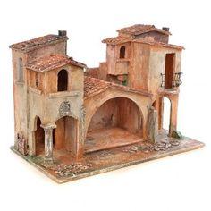 Villaggio presepe Fontanini cm 12