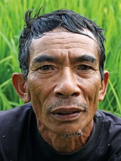 Subsistence Rice Farmer in Bali - These are my photographs of some of the wonderful and enchanting  people that I have been fortunate to meet in Bali.They are the spirit of the island. Live Encounters Magazine June 2013