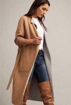 Longline Coatigan | Knitwear