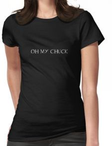 Supernatural- Chuck Womens Fitted T-Shirt